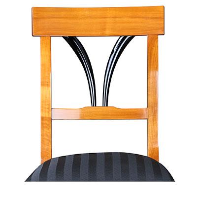biedermeier st hle bequem gepolstert mit individueller stoffauswahl. Black Bedroom Furniture Sets. Home Design Ideas