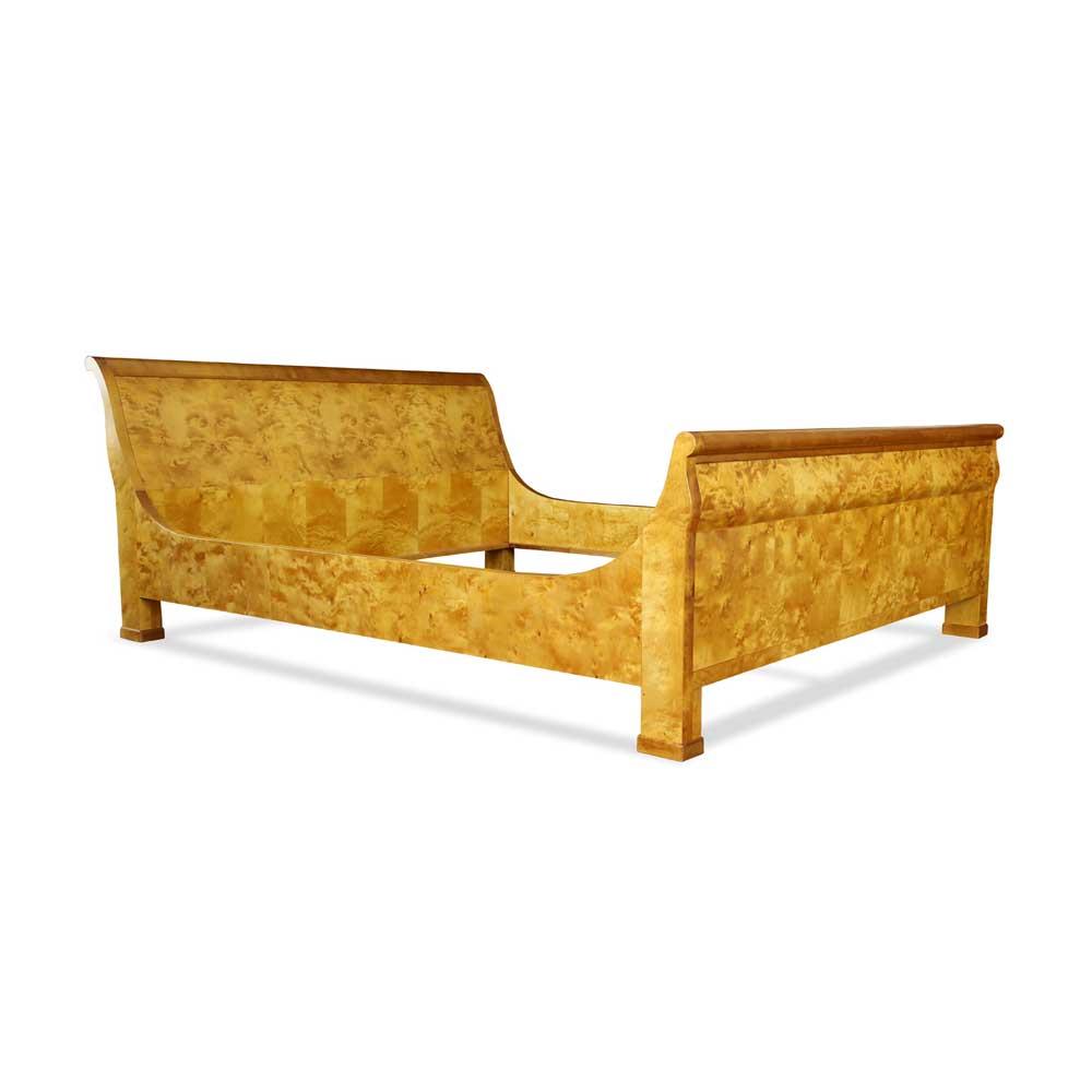 biedermeier bett birke. Black Bedroom Furniture Sets. Home Design Ideas