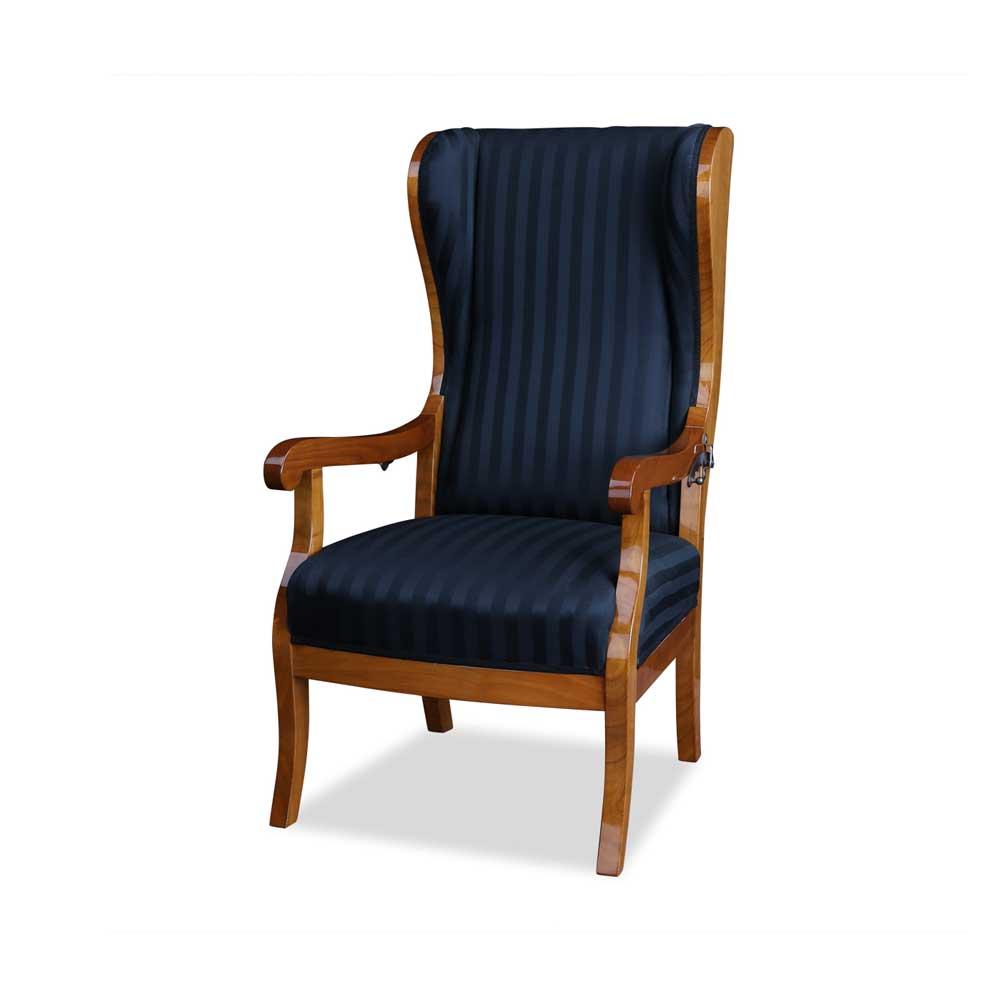 biedermeier ohrensessel kirsche. Black Bedroom Furniture Sets. Home Design Ideas