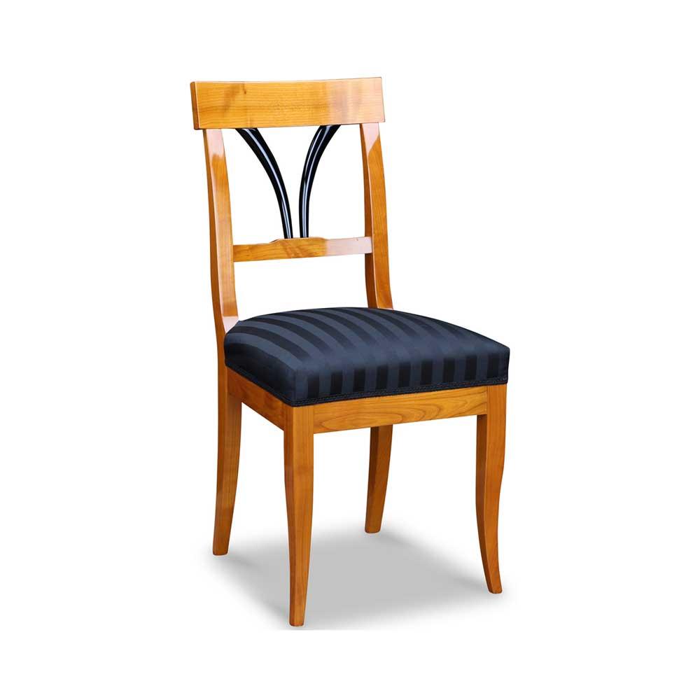 biedermeier kirschbaum stuhl massiv. Black Bedroom Furniture Sets. Home Design Ideas