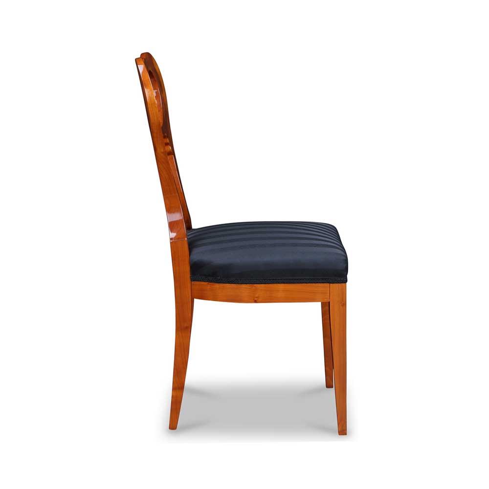 biedermeier stuhl mit ballon lehne. Black Bedroom Furniture Sets. Home Design Ideas
