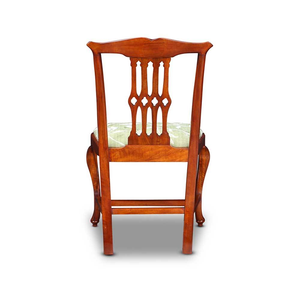 Chippendale Stuhl aus Nussbaum