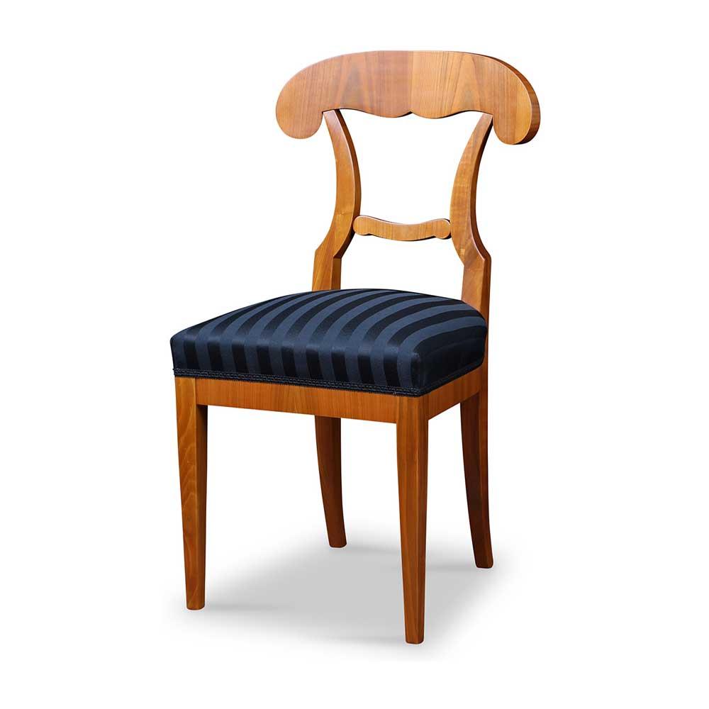 Biedermeier Stuhl Mit Schaufel Lehne Aus Kirschbaum