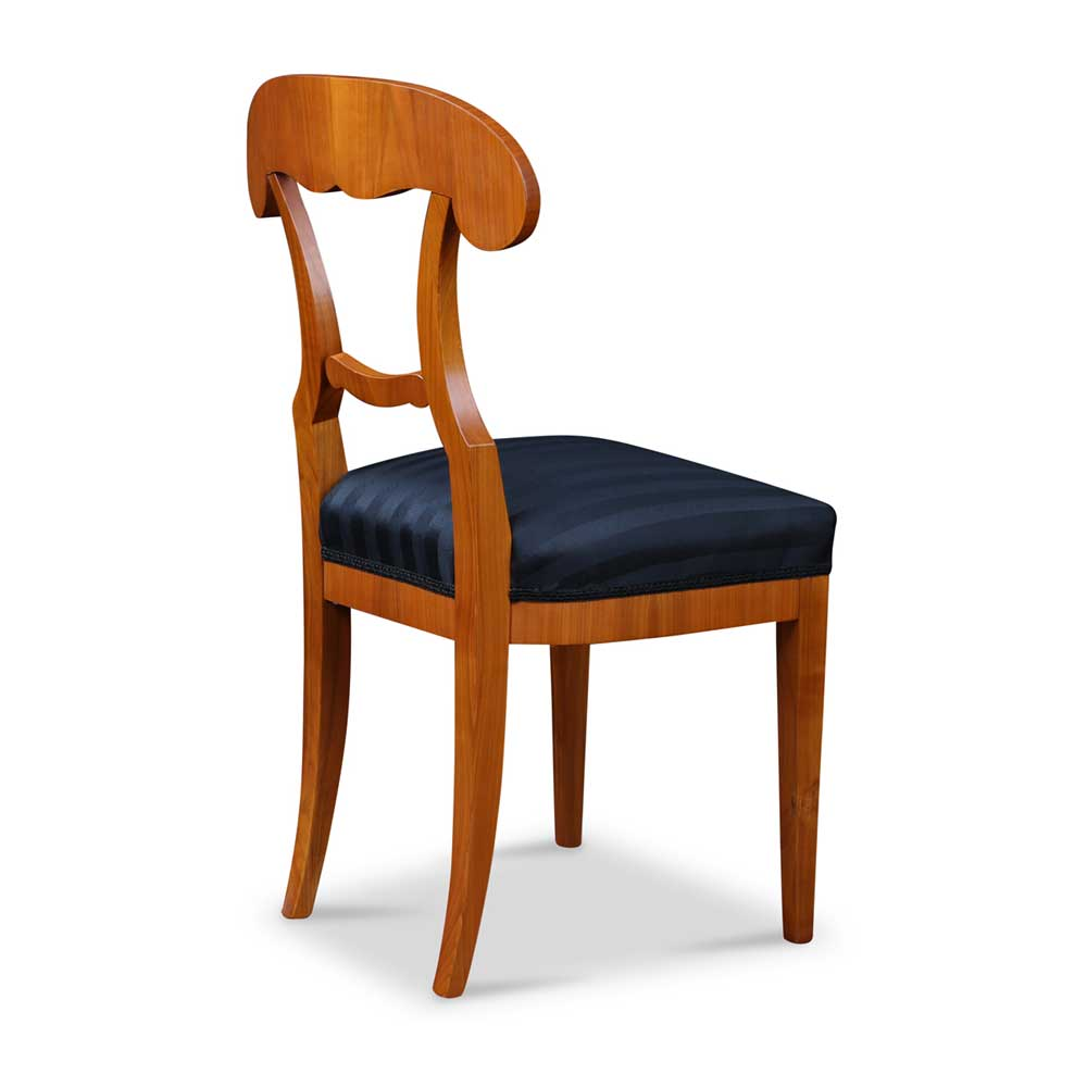 biedermeier stuhl mit schaufel lehne. Black Bedroom Furniture Sets. Home Design Ideas