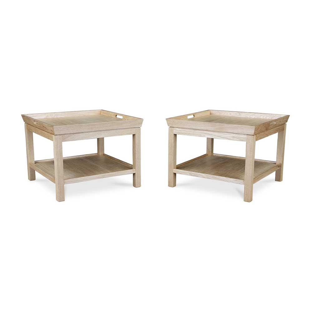 Tablett Tisch Holz Eiche Natur