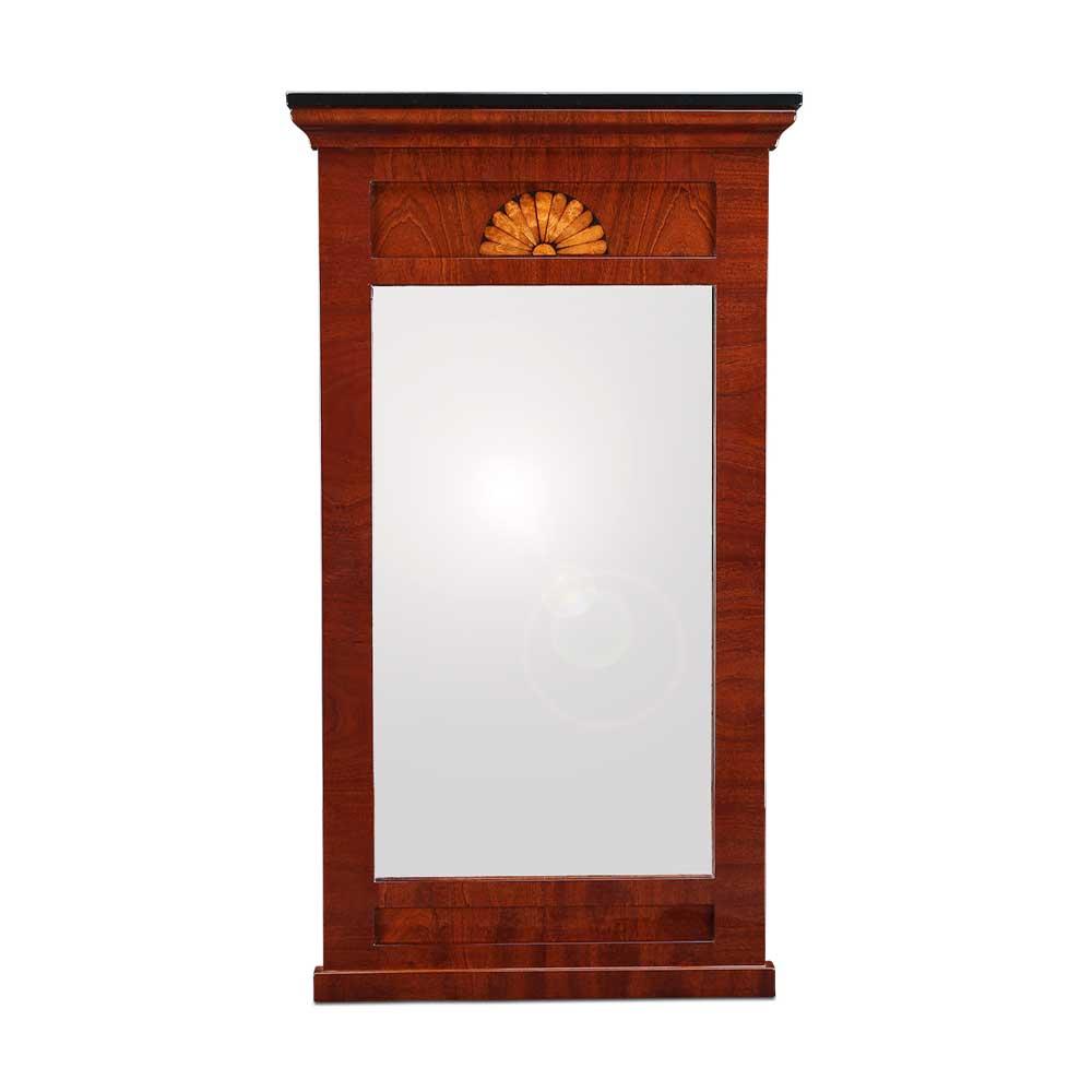 Biedermeier Spiegel biedermeier spiegel mahagoni mit intarsie