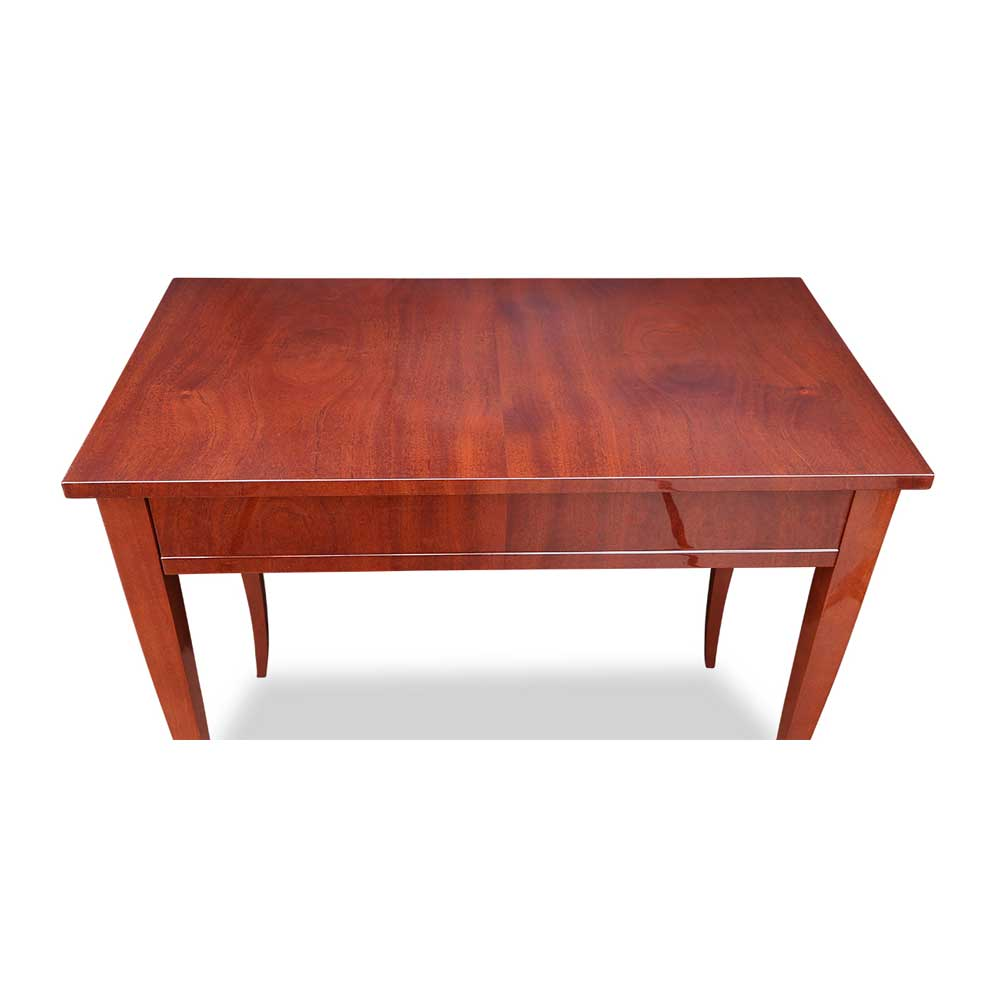 Biedermeier tisch mit schublade mahagoni - Biedermeier wohnzimmer ...